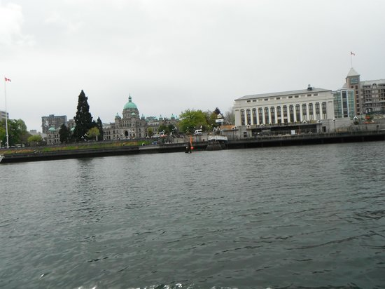 Victoria Harbour Ferry : Inner Harbour View