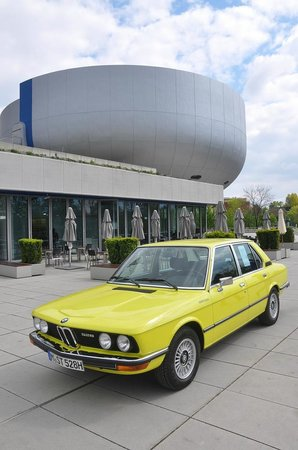 BMW-Museum: The Museum from the outside