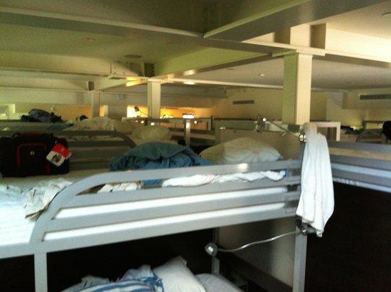 Posh South Beach Hostel : Visão dos quartos