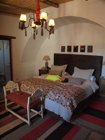 El Cortijo Hotel Boutique: Room at top of stairs on right
