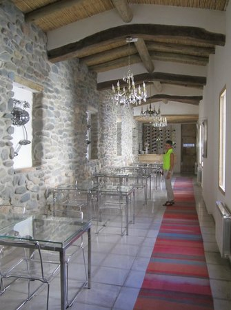 El Cortijo Hotel Boutique: Dining area - wonderful dinner; Also for breakfast