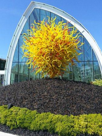 Chihuly Garden and Glass : Outside Display
