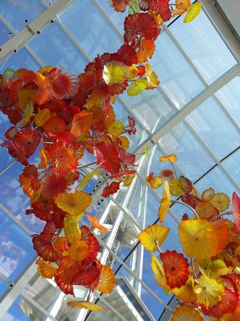 Chihuly Garden and Glass : Inside Display