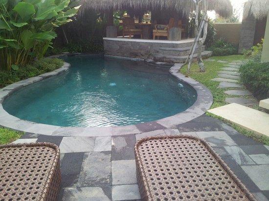 WakaGangga : Bungalow avec piscine.