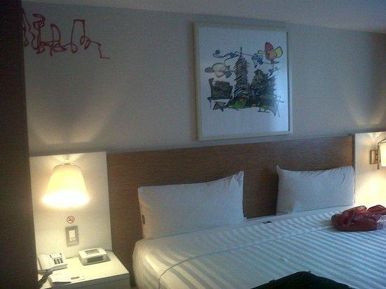 Howard Johnson Hotel Alameda Mexico City : dormitorio