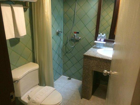 Patong Bay Garden Resort: シャワー(水量・あったかいお湯はOK)