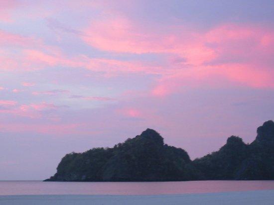 Tanjung Rhu Resort: Sunset