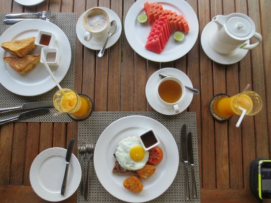 Tanjung Rhu Resort : Breakfast