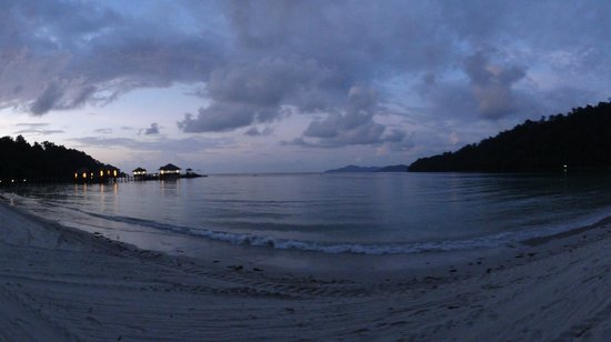 Bunga Raya Island Resort & Spa: As the sun sets...