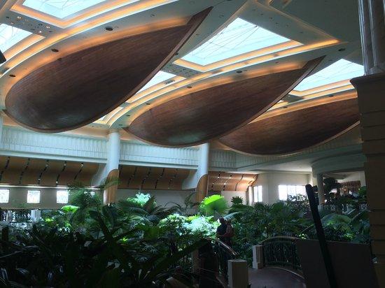 Grand Hyatt Dubai : the lobby