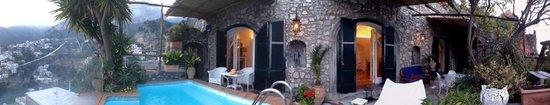 Villa Fiorentino: Amazing terrace!!!