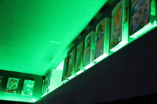 PC and Retro Bar Space Station: More NES box decor