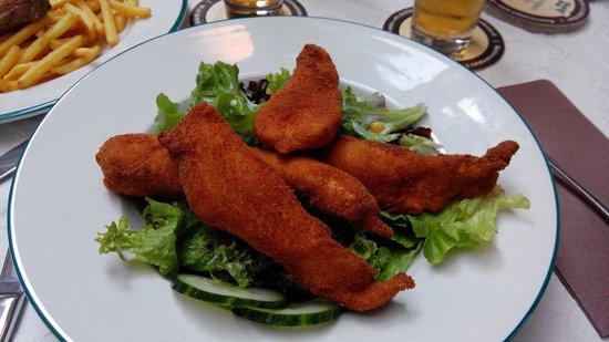 Glockl Brau: Ensalada de pollo
