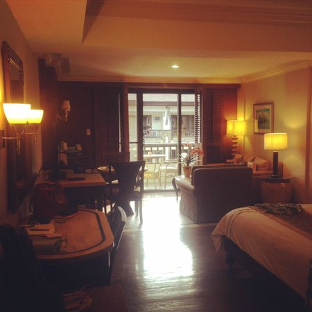 Henann Regency Resort & Spa : the room where we stayed