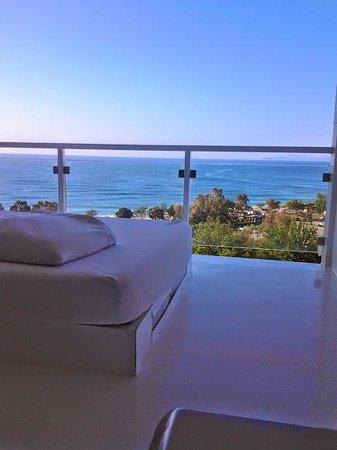 Hotel Su: Vue terrasse Chambre 857