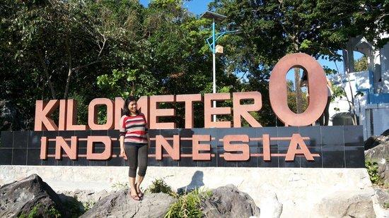 Sabang, Indonesien: 0 km Indonesia