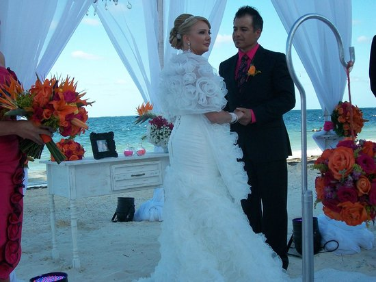 Dreams Riviera Cancun Resort & Spa: wedding ceremony