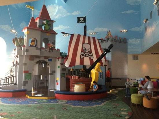 The Play Area Inside The Hotel Picture Of Legoland