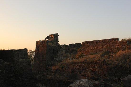 Daulatabad Fort : Interiors.