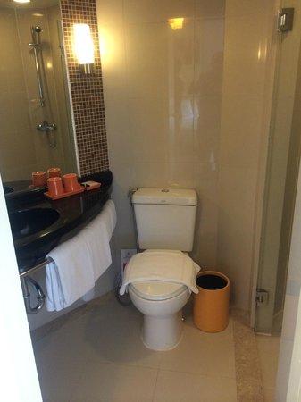 Ibis Pattaya: バスルームはミニマム