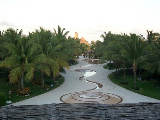 Secrets Maroma Beach Riviera Cancun : view from lobby patio
