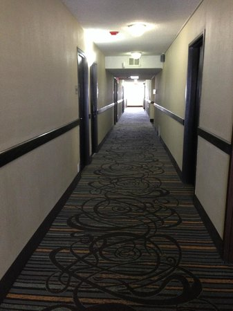BEST WESTERN McCarran Inn: Hallway