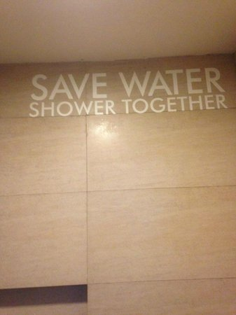 The Tides Boracay : Save water