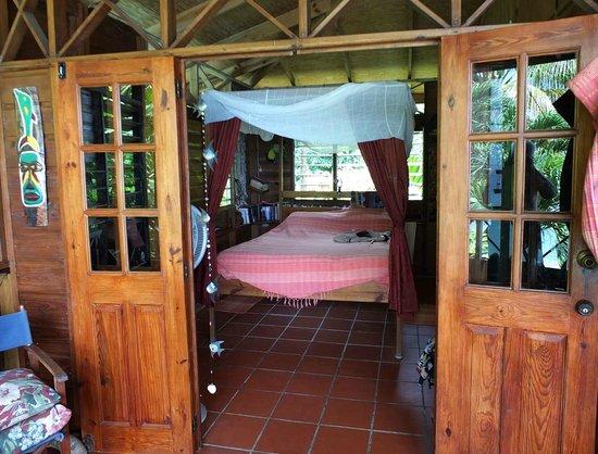 The Beach House Castara: Bedroom