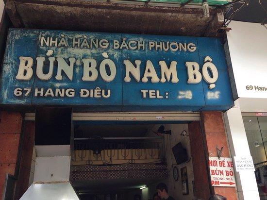 Bun Bo Nam Bo : Store front