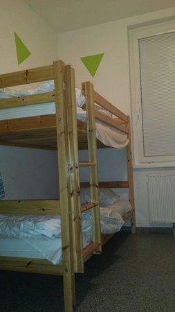 Vienna City Hostel : 4 Bett Zimmer