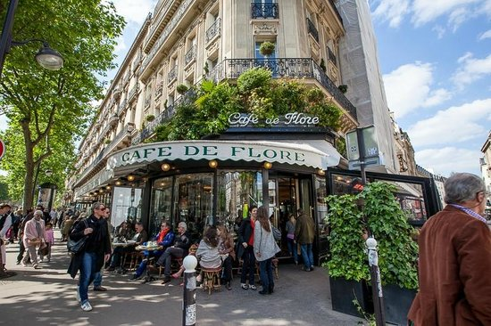 Cafe Les Deux Magots Paris France