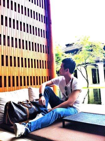 Anantara Chiang Mai Resort: Waiting at the lobby
