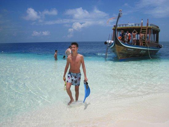 VOI Dhiggiri Resort: isola deserta