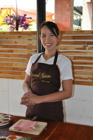 Oriental Cuisine Chiang Mai: Wawah - fantastic teacher