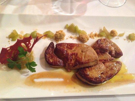 Restaurant Le Tertre: Стартерс - горячая фуагра