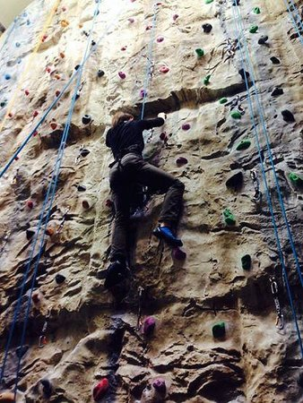 Ambleside Climbing Wall: My first time!