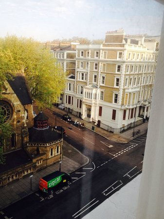 Rydges Kensington London: Dalla mia stanza