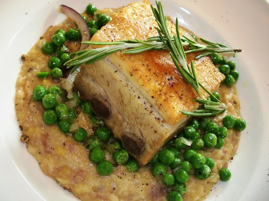 """Quality Hotel Fredrikstad : Delicious """"Peas, Beef and Pork"""""""
