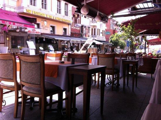 Senatus Hotel : Downstairs restaurant