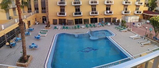San Pawl Hotel: Main pool area