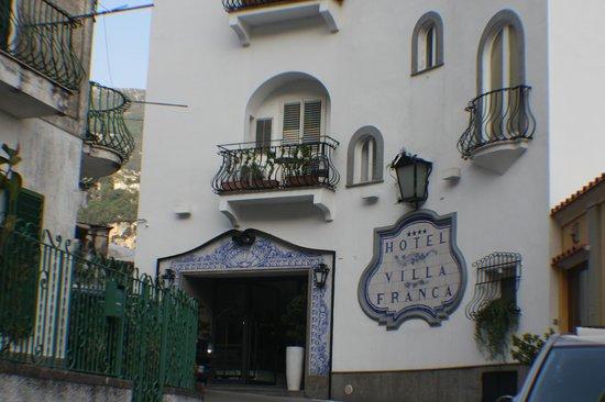 Hotel Villa Franca : Hotel