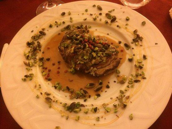 La Posata Di Federico II: Filet de veau sauce avec du gorgonzola