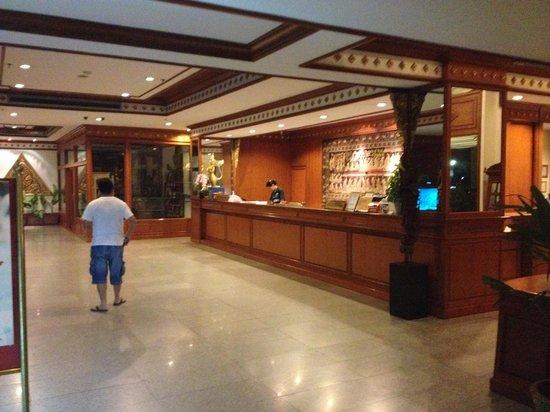 The Park Hotel: receptie