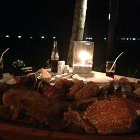 Chaba Cabana Beach Resort: Dinner