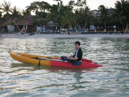 Chaba Cabana Beach Resort : Beach
