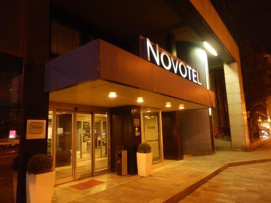 Novotel Genova City : Hotel entrance