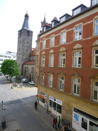 Mercure Hotel Erfurt Altstadt: Blick aus dem Fenster