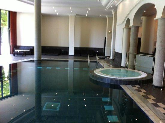 Pavillon de la Rotonde: Superbe piscine et jacuzzi