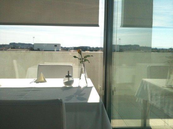 Hotel Torre Mar : Desayuno en la terraza!!!!!