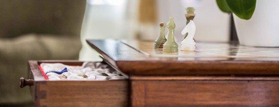 Hostal Fonda Maria: Salon social ajedrez